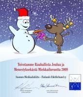 Hyvää joulua toivoo SML