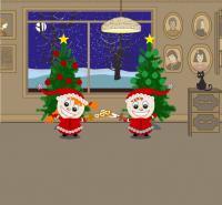 Miekkailuliiton joulutervehdys 2009