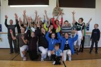 Oulun ja Rovanimen miekkailuseurojen juniorileiri ja leirikisa 2011